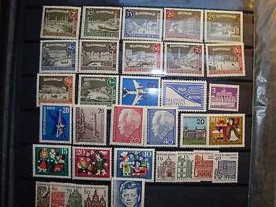 Briefmarken Berlin postfrisches Lot aus 1962-64