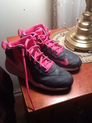 Nike High Top Sneakers For Girls Size 2