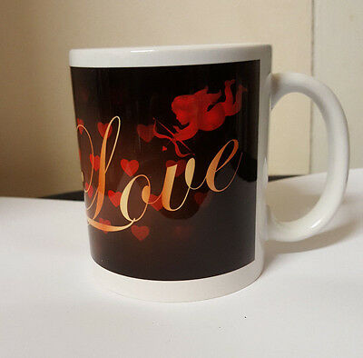 Personalised Printed Love Valentine's Mug Add Your Own Image