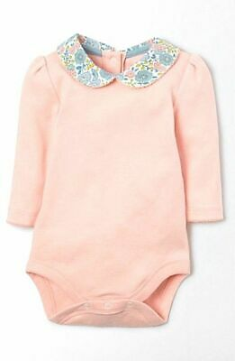 Mini Boden Baby Collar Vest Bodysuit/ Body Various Designs- Ditsy Birds  Bnwot