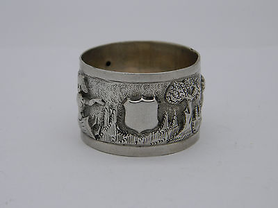 Silver Plated Indian Style Napkin Ring
