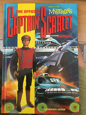 The Official Captain Scarlet Annual 1993 Gerry Anderson