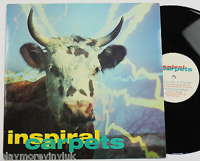 """INSPIRAL CARPETS She Comes In The Fall 12"""" UK 1990 Mute DUNG10T  EXcond!"""