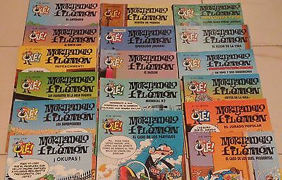 Lote 40 comics Mortadelo y Filemón