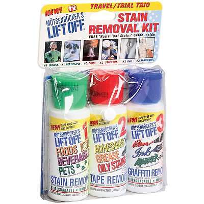 Lift Off Travel Size Stain Removal Kit 077448121932