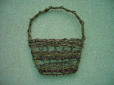 Wicker Wall Hung Decorative Basket