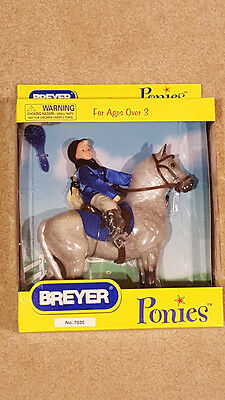 Breyer 7035 Dappled Ponies Edition: Equestran Horse & Rider Set--New Price