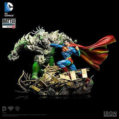 Iron Studios Superman Vs.  Doomsday 1:6 Battle Diorama Statue by Ivan Reis