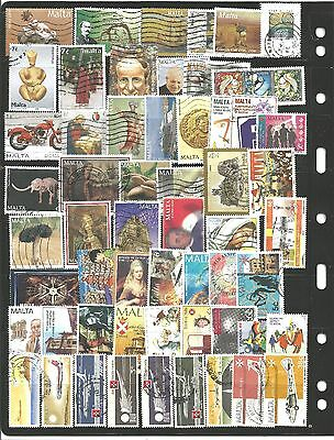 Malta 57 Stamps Used As Per Scan
