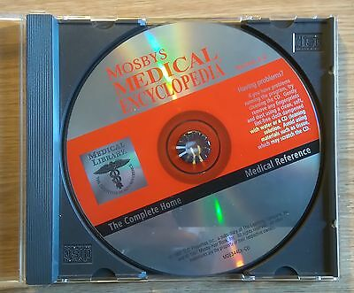 CD: MOSBY'S MEDICAL ENCYCLOPEDIA v2.0:  WIN 98, XP, 7: COMPLETE HOME REFERENCE