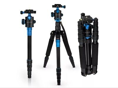 Caseflex Premium Alloy Professional Tripod Stand With Ball Head Mount For / / /