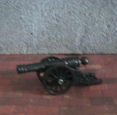 small CANNON metal BATTLE WEAPON miniature TUDOR medieval or DESK ACCESSORY new
