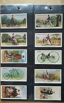 Cycling Set Of 50 Cigarette Cards 1939 John Player