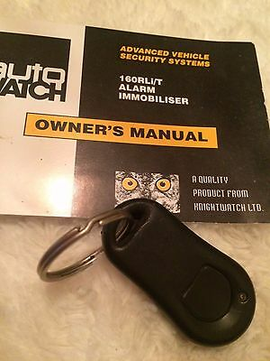 Auto Watch *225-000* Latest Style Self Coding Fob (Immobiliser) Vgc Manual Incl)