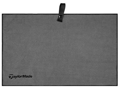 TaylorMade Microfiber Cart Golf Towel Grey