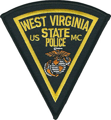 West Virginia State Police USMC Shoulder Patch - United States Marine Corps NEW