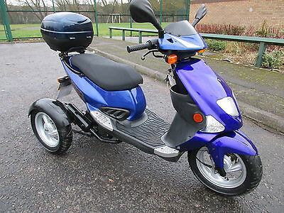 NIPPI TRIPPI 50cc Tricycle/Scooter