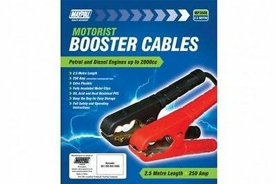 Maypole Automotive Car Jumper Leads / Booster Cables 2.5 metre Cable