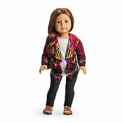 NEW American Girl Saige Sweater Outfit pants sandals Fast Shipping