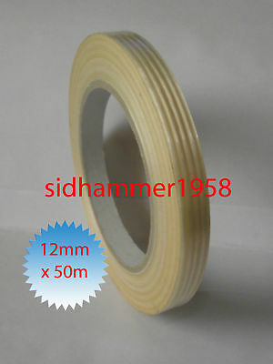 Mono Weave Strapping Repair Packaging Tape 12mm x 50m