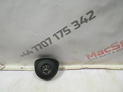 Mercedes W205 New C Class Steering Air Bag In Black 2014-Onwards