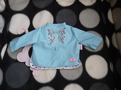 BABY ANNABELL Doll BOY ~ OUTFIT Suit CLOTHES Jacket