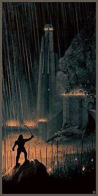Lord of the Rings The Two Towers Print Poster Matt Ferguson /1565 NT Mondo