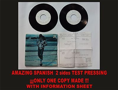CHRIS REA DIAMANTES Amazing Spanish Test Pressing. Only 1 copy made! ULTRARARE