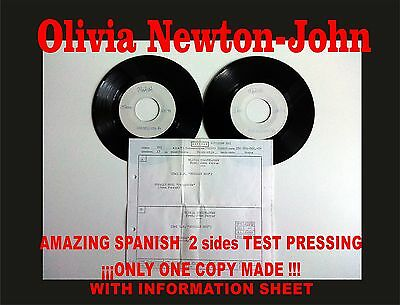 Olivia Newton-John Totally Hot  Amazing Spanish Test Pressing. Only 1 copy made!