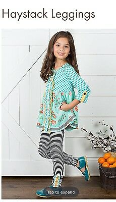 Matilda Jane Haystack Leggings Pants Size 10 Once Upon A Time NWT Joanna Gaines