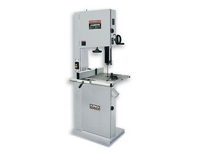 "King Canada Tools KC-2102FXB 21"" WOOD BANDSAW WITH RESAW GUIDE Scie Ruban"