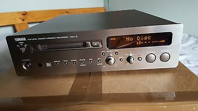 Yamaha MDX-9 Minidisc Recorder With Remote and Instructions