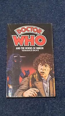 doctor who book - THE HORNS OF NIMON - 1st edition