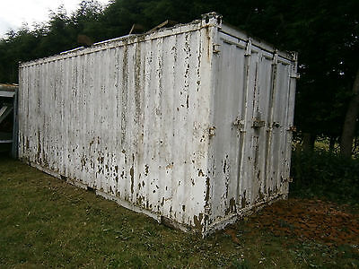 Shipping container 20ft (North Shropshire)