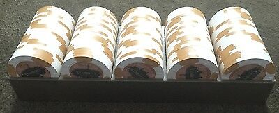 LOT OF 100 $1 Las Vegas Stardust 1958-2006 Casino Chip UNCIRCULATED Paulson Clay