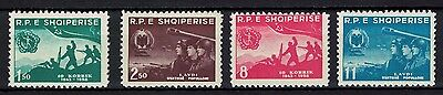 Albania 1958 _ The 15th Anniversary of the Albanian People's Army - MNH **