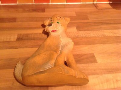 Wonderful Vintage Disney Lady And The Tramp, Tramp Hot Water Bottle 1966 Rare