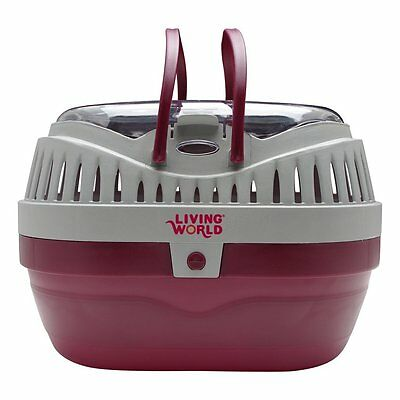 Living World Carrier Cage De Transport For Small Pets