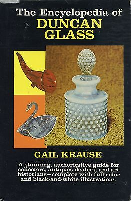 Duncan Miller Glass - History Types Pattern Identification / Scarce Book