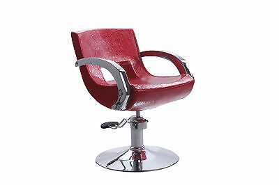 Red Crocodile Pattern Salon Styling Hairdressing Barber Chair Hydraulic Pump