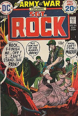 Our Army At War, Sgt. Rock #270 Dc 1974 Combined Shipping Available