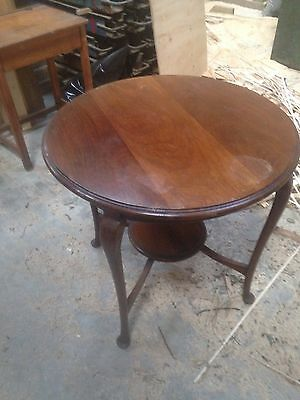 Antique  Hall Table / Side / Occasional Table - Brown Wood