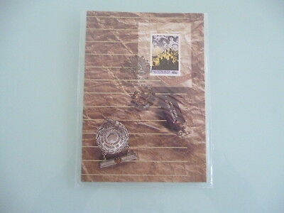 AUSTRALIA the anzac tradition 1990   maxi card set x 5   still sealed