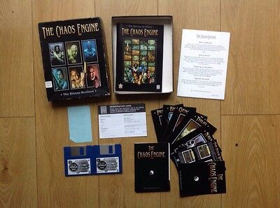 The Chaos Engine by Bitmap Brothers Commodore Amiga Boxed Complete Tested