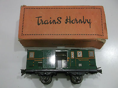 HORNBY - SNCF - FOURGON A  BAGAGES  N°: 1  - Ech O  -