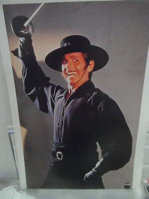 Zorro: The Gay Blade, A4 laminated picture, Excellent image, L@@K!