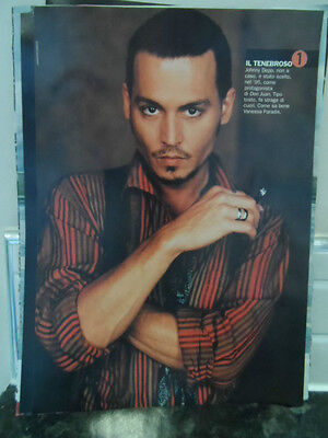 Johnny Depp, A4 Laminated Image, Excellent picture from magazine, L@@K!