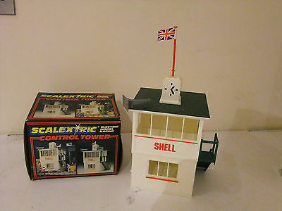 Scalextric C702 Control Tower Rare Vintage with Box
