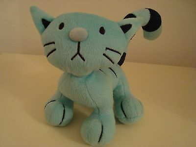 Rare Bob the Builder Pilchard the Cat plush soft toy MEOWS excellent clean condn