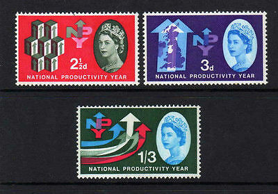 Sg631-633 1962 Npy ~ Unmounted Mint Gb